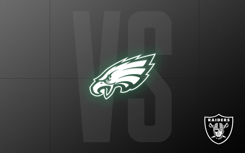 More Info for Raiders vs. Eagles - Week 7