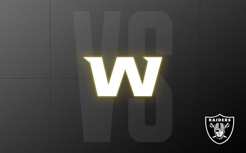 More Info for Raiders vs. Washington - Week 13