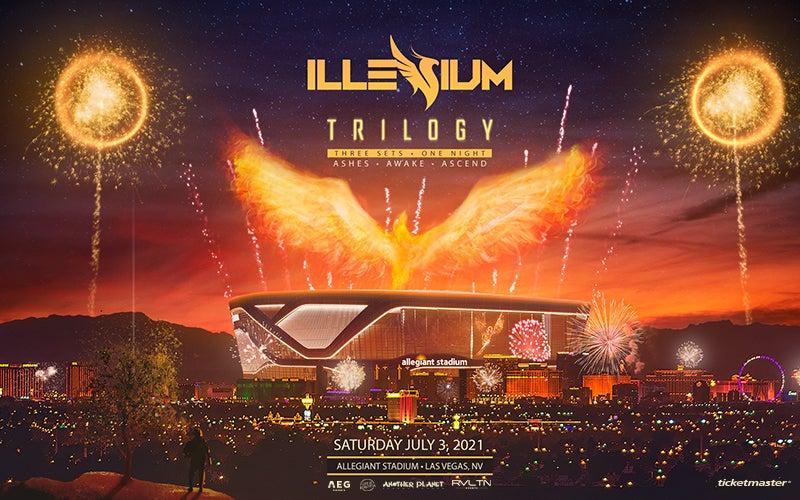 More Info for ILLENIUM to Perform Special Three-Set Trilogy Show at Allegiant Stadium