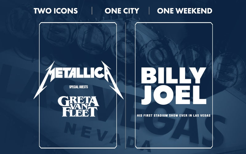 More Info for Metallica and Billy Joel