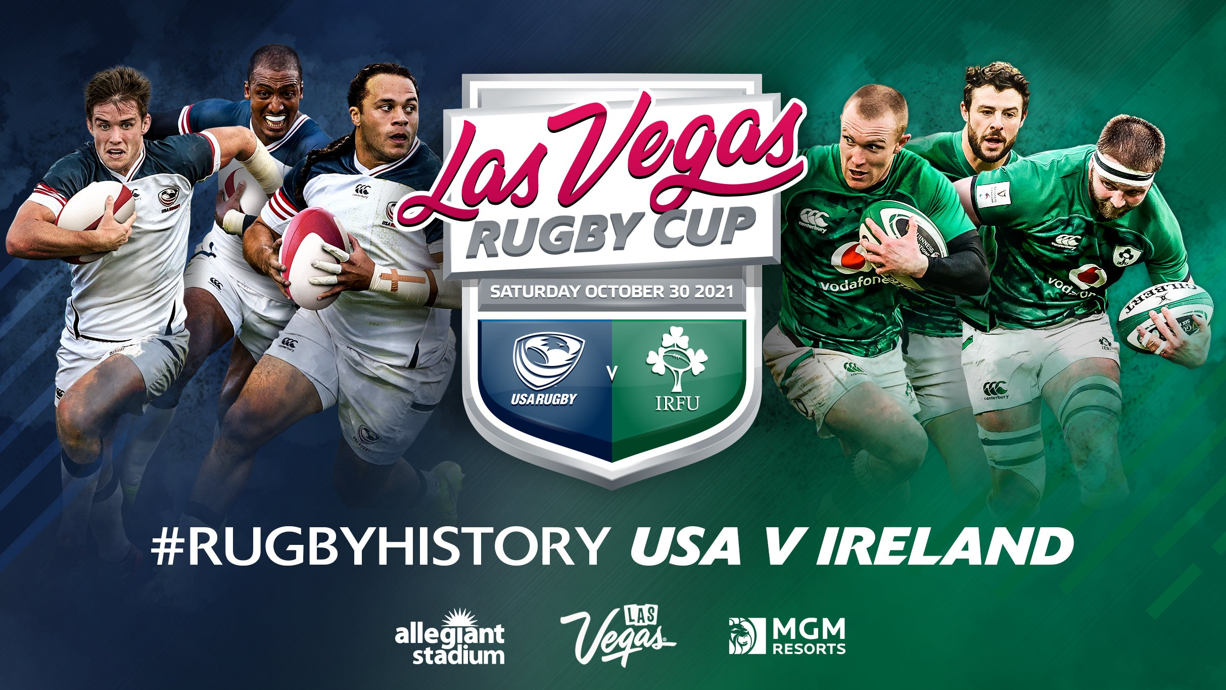 More Info for Las Vegas Rugby Cup Schedule on October 30 at Allegiant Stadium Canceled for 2021