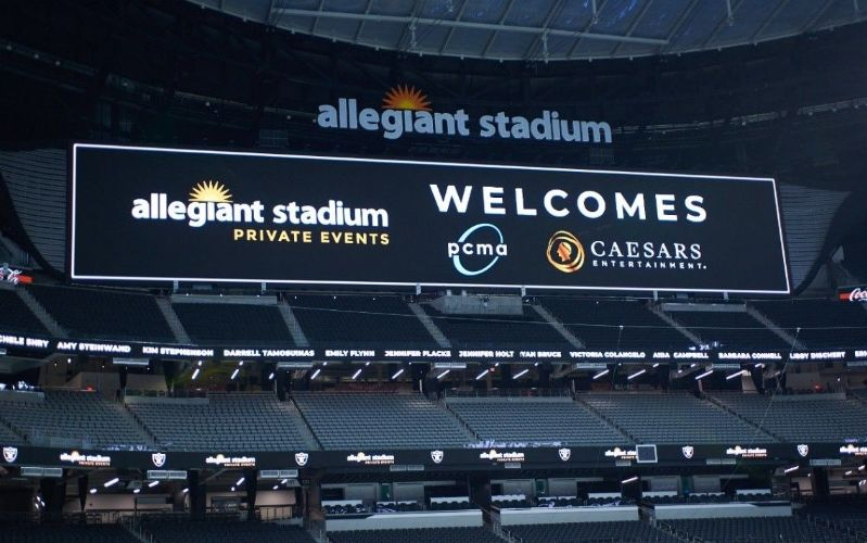 More Info for Caesars Entertainment and Allegiant Stadium Hosted the Professional Convention Management Association Convening Leaders 2021 Conference