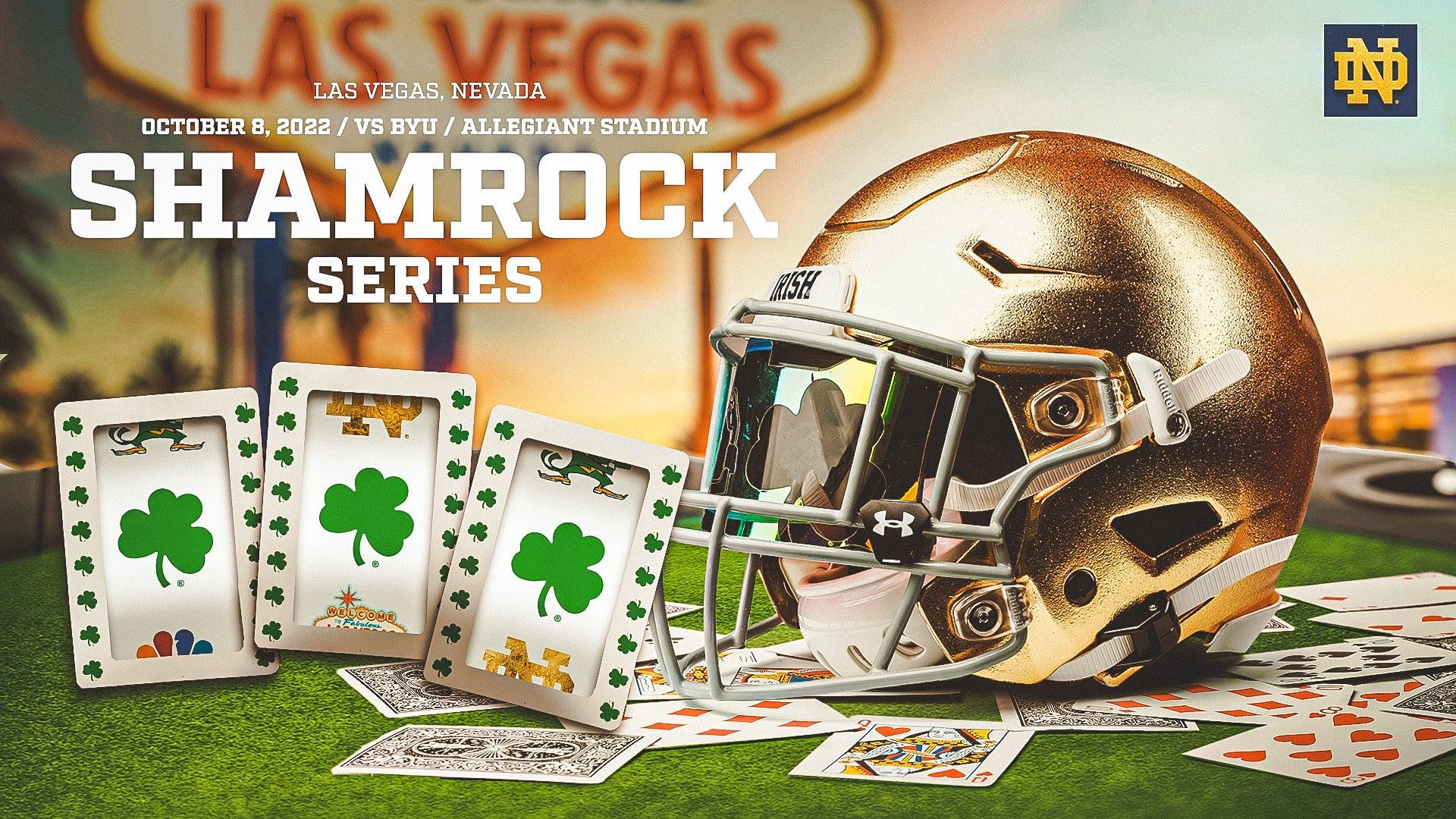 More Info for Irish Announce 2022 Shamrock Series Against BYU in Las Vegas