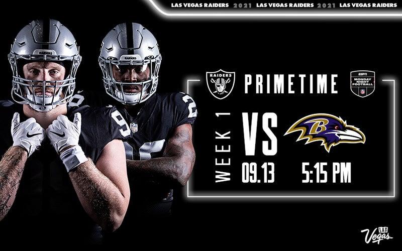 More Info for Raiders vs. Ravens - Week 1