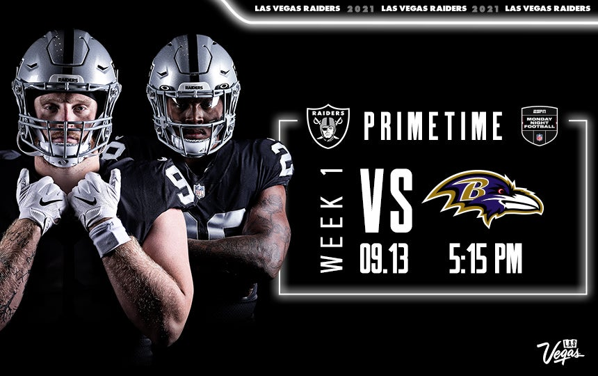 Raiders vs. Ravens - Week 1