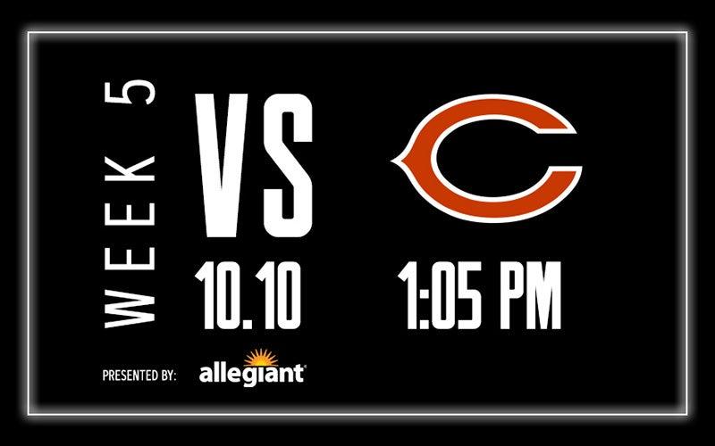 More Info for Raiders vs. Bears - Week 5