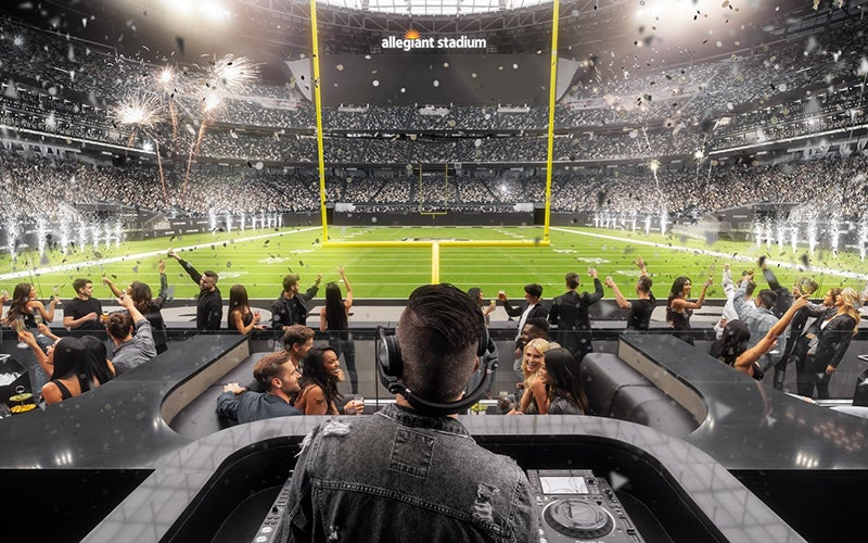 More Info for Wynn Field Club to Debut Nightlife Experience in the End Zone at Allegiant Stadium