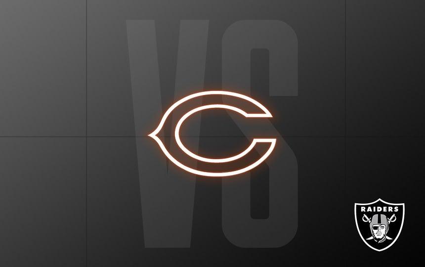 Raiders vs. Bears - Week 5