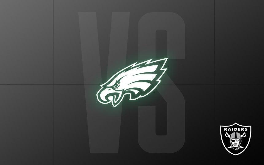 Raiders vs. Eagles - Week 7