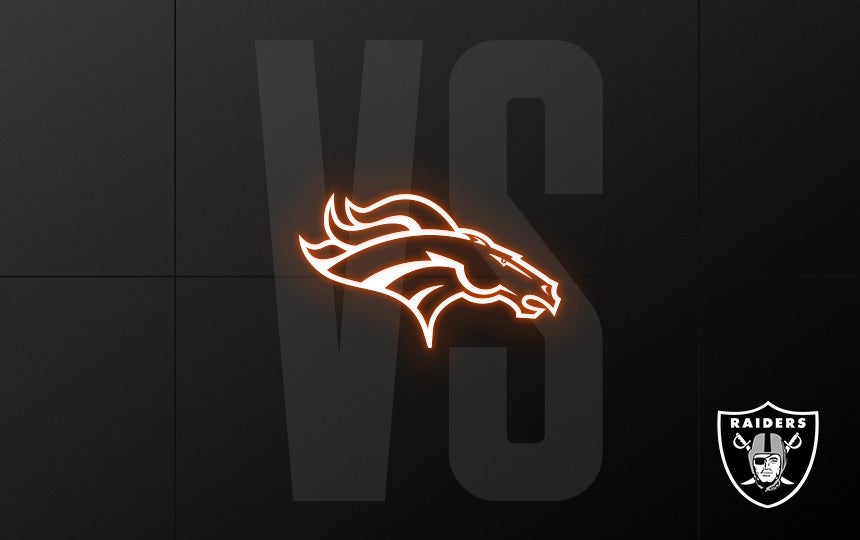 Raiders vs. Broncos - Week 10