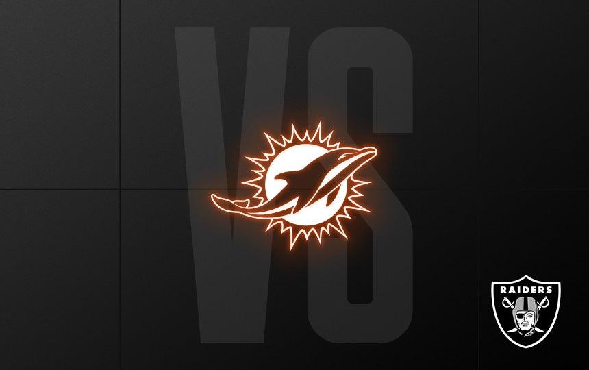 Raiders vs. Dolphins - Week 16