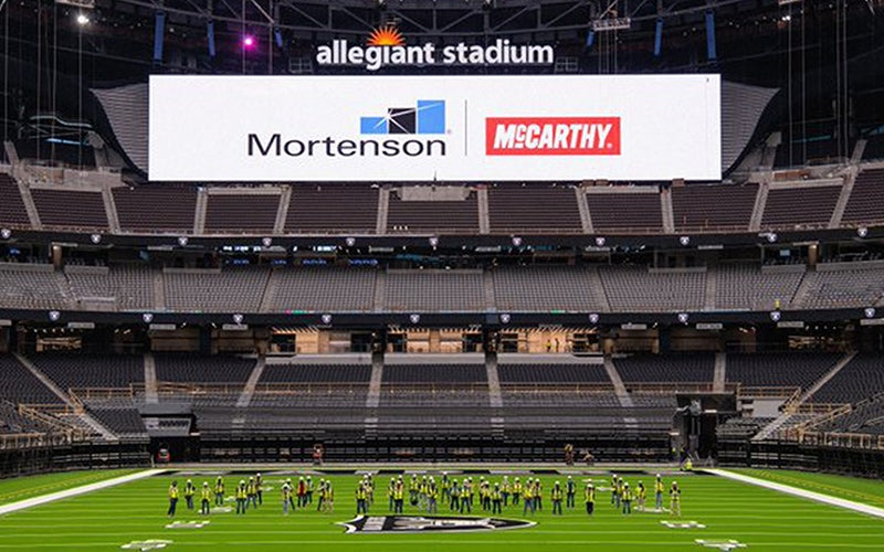 More Info for Construction of Allegiant Stadium Achieves Certificate of Occupancy