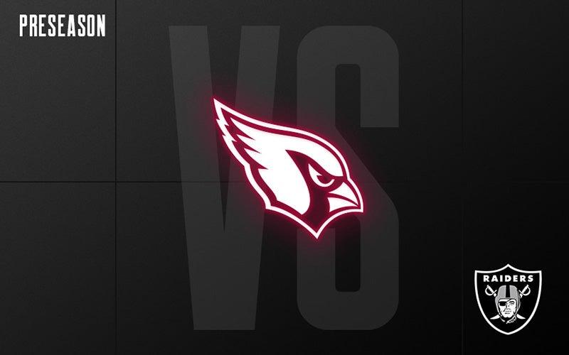 More Info for Raiders vs. Cardinals - Preseason Week 3