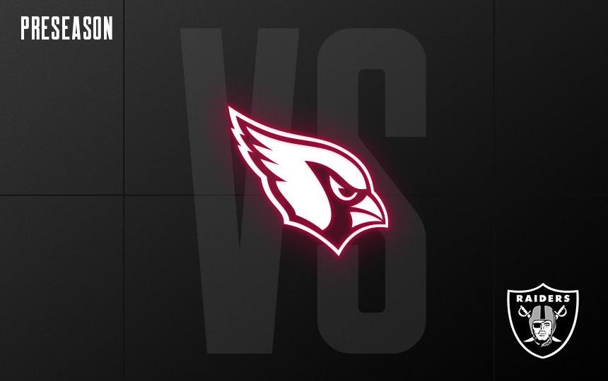 Raiders vs. Cardinals - Preseason Week 3