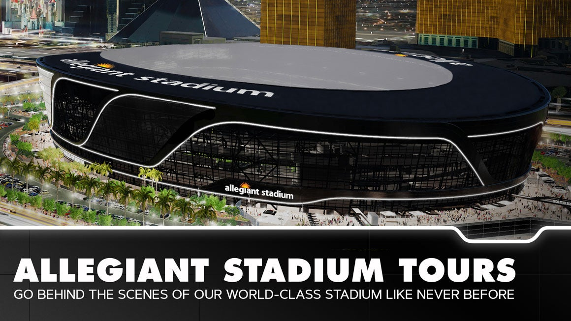 Official Allegiant Stadium Tours: Go behind the scenes of our world-class stadium like never before