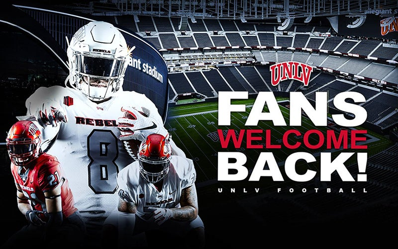 More Info for UNLV announces approval for limited number of fans at football games