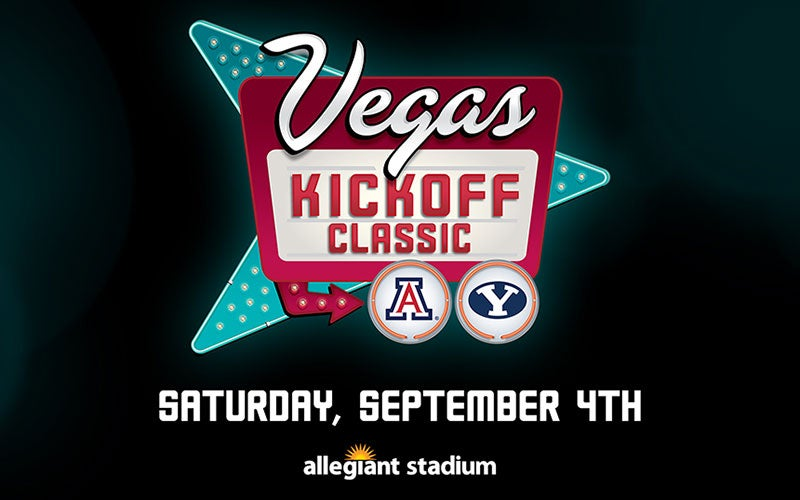 More Info for Vegas Kickoff Classic: BYU Cougars vs. Arizona Wildcats