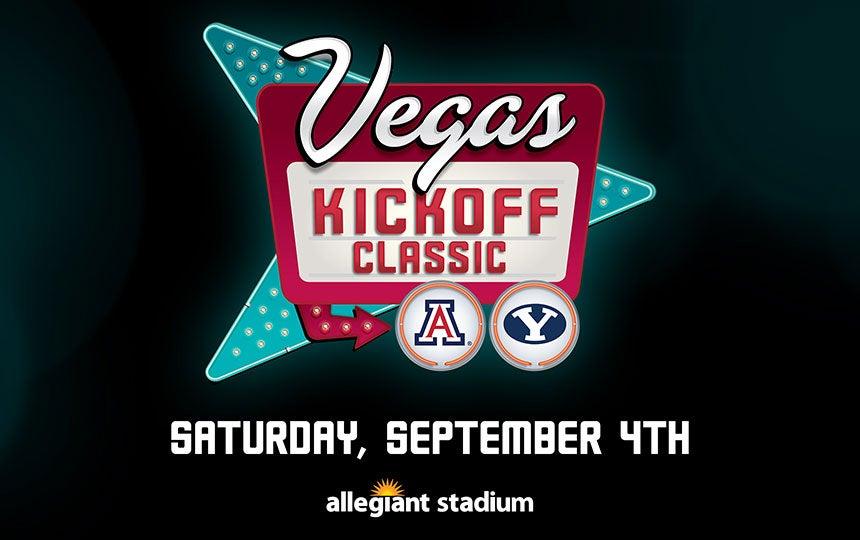 Vegas Kickoff Classic: BYU Cougars vs. Arizona Wildcats