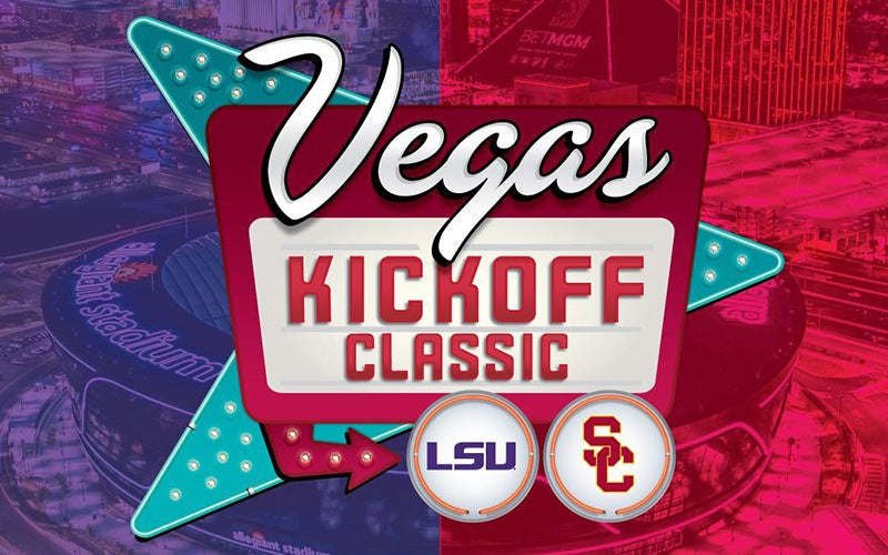 More Info for USC to Face LSU in Historic 2024 Vegas Kickoff Classic