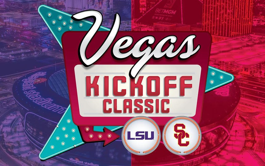 Vegas Kickoff Classic: USC vs LSU