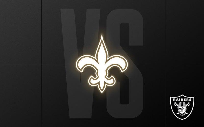 More Info for Raiders vs. Saints - Week 2