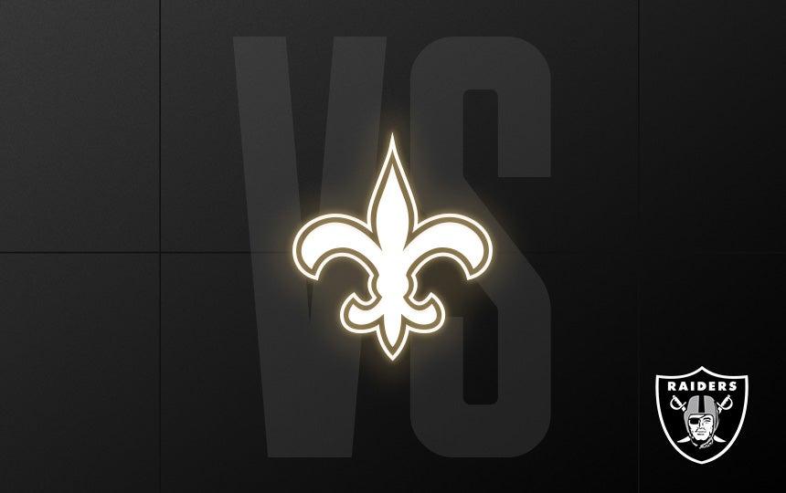 Raiders vs. Saints - Week 2